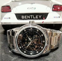 Bentley styled automatic chrome stainless watch Toronto
