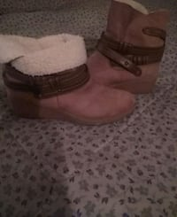 brown suede wedge mid-calf snow boots Dayton, 45403