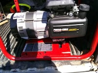 Honda powered generator w/ porter cable brushless
