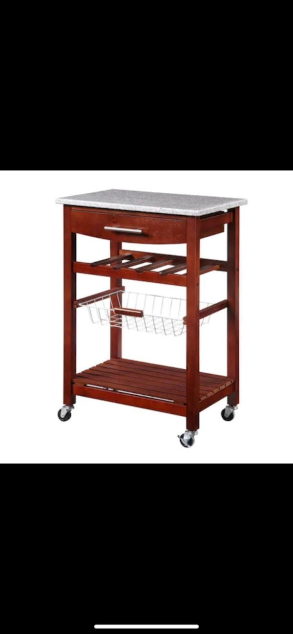 Moving Sale Taking Best Offer Granite Counter Kitchen Cart