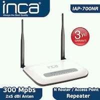 İNCA IAP-700 NR ACCESS POINT Donanmacı Mahallesi, 35580