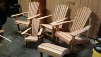 Raw wood ..never been painted!  Clearwater, 33760