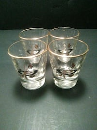 4 Curling double shot glass's Calgary, T2A 1L3