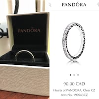 Brand New Hearts of Pandora Ring Size 50(5)