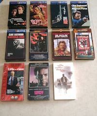 Clint Eastwood VHS Movies Barrie, L4M 7J9