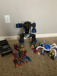 Imaginext Batbot, space rover and superheroes  McCordsville, 46055