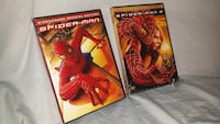 Spider-Man DVDs