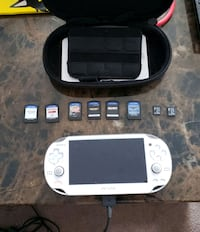 Ps vita limited edition with games and case Edmonton, T6T 0C3