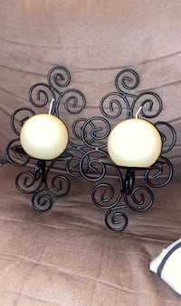 Wall sconces with candle