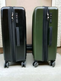 Olympia hard-shell suitcases (2)