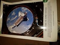 NASA collectors Poster -  End of Space Program Burtonsville, 20866