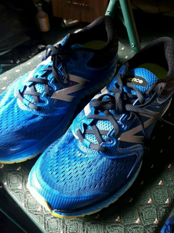 New balance 1080 fresh foam pair of shoes 0