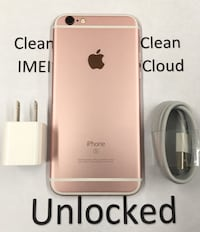 64GB Rose Gold(Pink) iPhone 6s - Factory Unlocked  New York, 10018