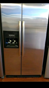 stainless steel side-by-side refrigerator with dispenser Santa Ana, 92701