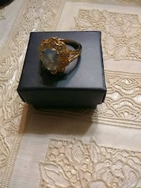 Beautiful blue stone ring from shopping channel Toronto, M3H