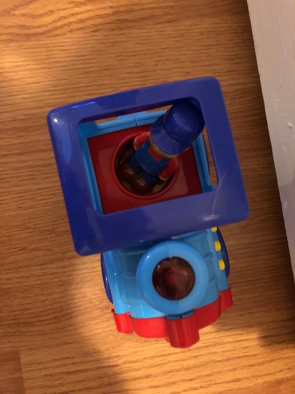Toddler toy train and police car- lights up and makes noises c15fb6b5-2e67-4bb9-b86a-69245a1a1e25