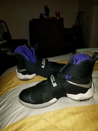 pair of black-and-white basketball shoes Norcross, 30093