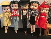 5 Betty Boop Dolls W/ All Different Outfits! Lutz, 33549