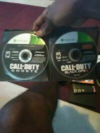 Call of duty ghosts & black opps 3 Fresno, 93706