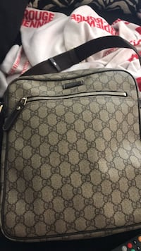gray monogrammed Coach leather backpack Toronto, M1L 1N8
