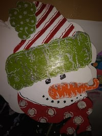 One of a kind new handcrafted Christmas decor