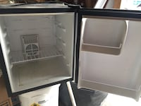 Two black and white compact refrigerators Fresno, 93711
