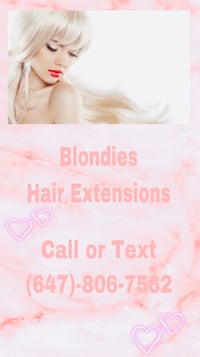 Blondies Salon Budget Friendly Hair Extensions  Toronto