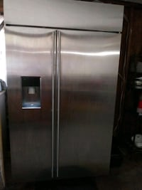 stainless steel side by side refrigerator with dispenser Silver Spring, 20906