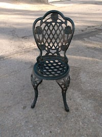Decorative cast iron chair Las Vegas, 89121