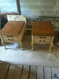 two brown wooden side tables O'Fallon, 63366