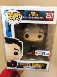 Funko Pop Bruce Banner NEW + Protector Barrie, L4M