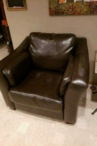 Leather style oversized chair Winchester, 22602