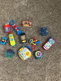Baby and toddler toys 15 for all. Includes little tykes fisher price and sesame street Murfreesboro, 37127