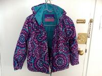 Purple and green floral zip-up hoodieXmtn-Brand - Girls Jacket mint Conditions very clean & Warm.....Size 7 Hamilton, L8V 4K6