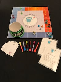 SCALED!!  Brand New Exciting Family Board Game! For ages 8 to 80 Silver Spring, 20902