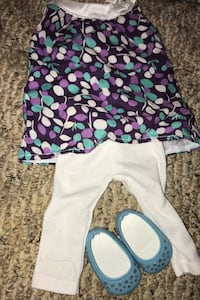 American girl doll boutique outfit, with wallet!