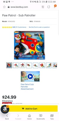 blue and red Fisher-Price learning toy Murray, 84107