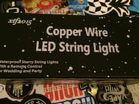 copper wire Led string light box