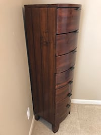 Free standing real antique wood  look 7 drawers fantastic condition Calgary, T3M 0C4