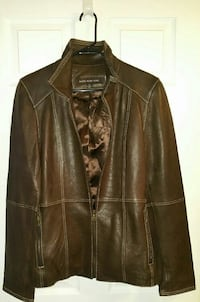New, Women's Marc New York brown leather jacket