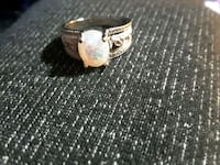 silver-colored ring with clear gemstones Elizabethton, 37643