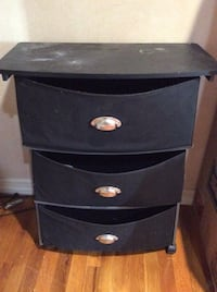 Black 3 draw storage