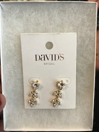 David's Bridal Gold Earrings Maple Ridge, V4R