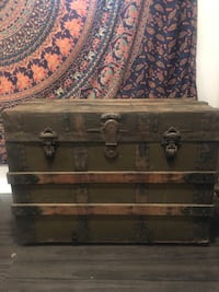 black and brown wooden chest Silver Spring, 20904