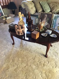 Coffe table and art deco table and chairs  Aldergrove, V4W