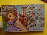 Sophia the 1st 7 wood puzzle box Colton, 92324