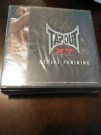 BRAND NEW TAPOUT XT STRIKE TRAINING WORKOUT DVDS