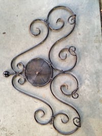 Thick copper 2 Plate hanger or use for wall decor .                Langley, V3A 3E9