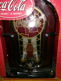 Coca cola juke box radio
