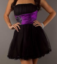 Purple and Black Prom Dress Harpers Ferry, 25425